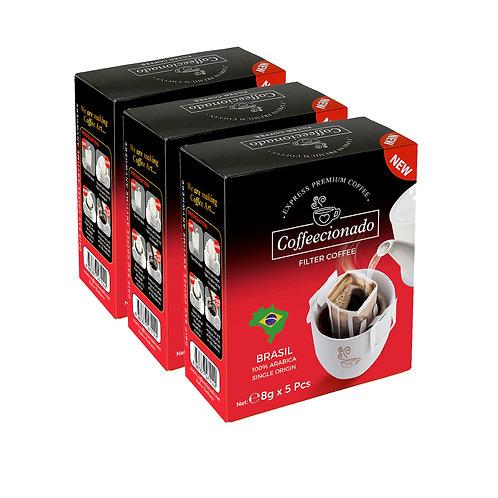Coffeecionado 15'li Paket Brasil
