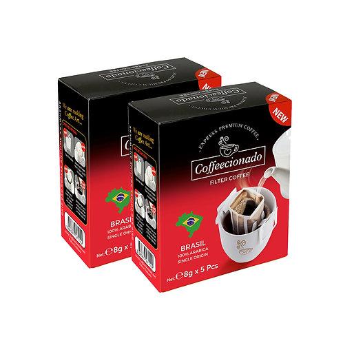 Coffeecionado 10'lu Paket Brasil