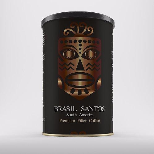Brasil Yöresel Filtre Kahve 250 gr Teneke Kutu Öğütülmüş