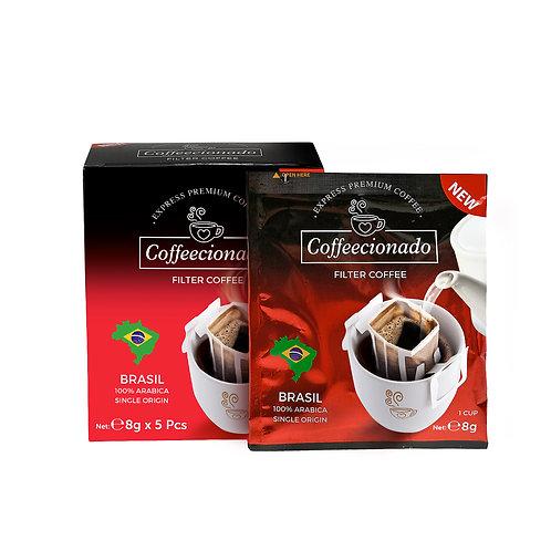 Coffeecionado 5'li Paket Brasil