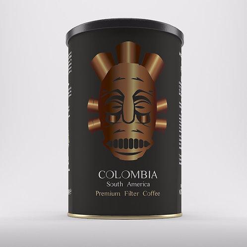 Colombia Yöresel Filtre Kahve  250 gr Teneke Kutu Öğütülmüş