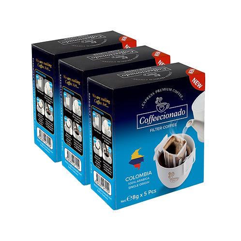 Coffeecionado 15'li Paket Colombia