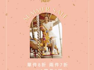 D̷B̷͛T̷ SUMMER SALE #210720   DOUBLE TAKE 夏季折扣開跑 30% off