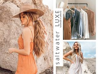 D̷B̷͛T̷ LIFE x Style #43 熱愛度假或海灘風格的女孩必收:加州品牌 Saltwater LUXE