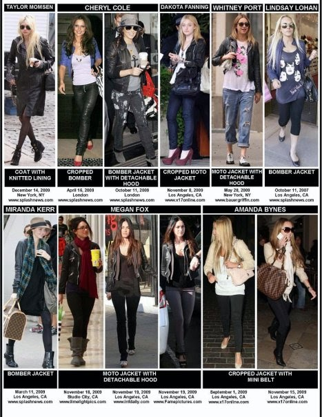 Celebrities wearing Doma leather