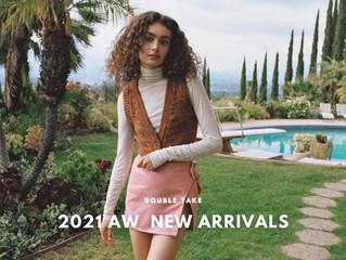 D̷B̷͛T̷ NEW ARRIVALS #210916   DOUBLE TAKE 2021 AW  新品上市 + 信義誠品週年慶 9.24 開跑 消費回饋累達30%