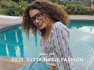D̷B̷͛T̷ NEW ARRIVALS #210916   DOUBLE TAKE 2021 秋季新品 FOR LOVE & LEMONS 永續時尚系列100%花瓣製成單品