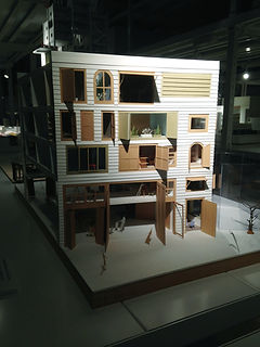 建築倉庫 模型