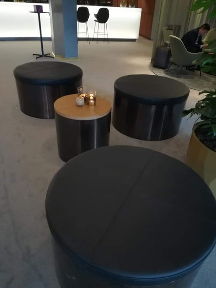 Relax area reception