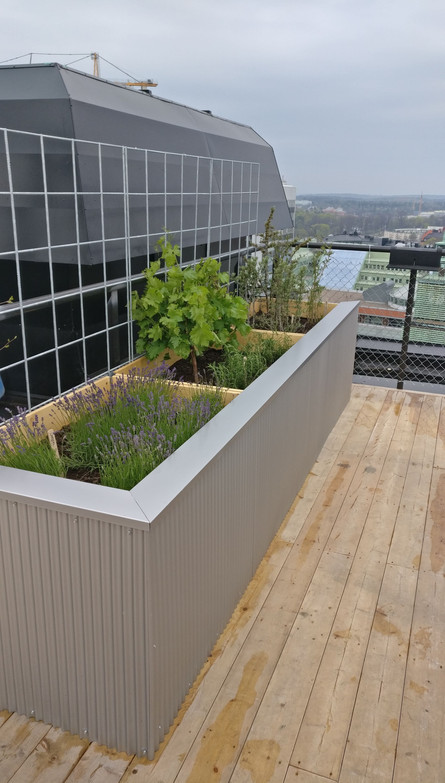 Rooftop area outdoor furniture