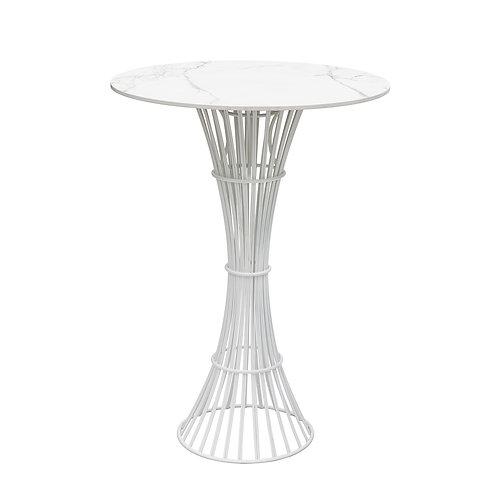 Bolonia table 110, kõrge ümmargune laud diam 60cm