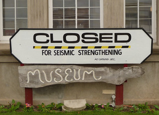 Closure of Museum for Seismic Strengthening Work