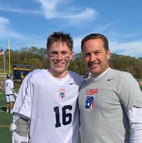 Mark Millon and son, Mccabe