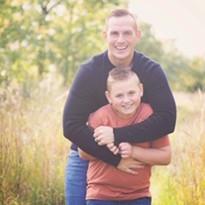 Sean Pollock and son, Beau