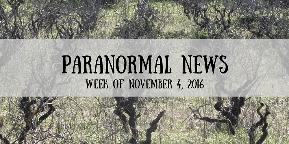 Paranormal News This Week