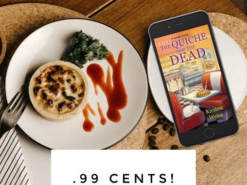 The Quiche & the Dead - Only .99 Cents!