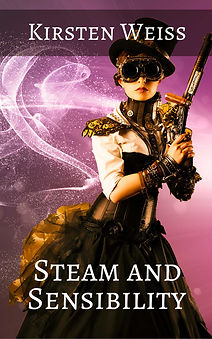 Steam and Sensibility, a steampunk mystery
