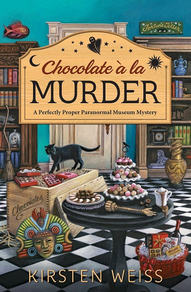 Chocolate a'la Murder Cover