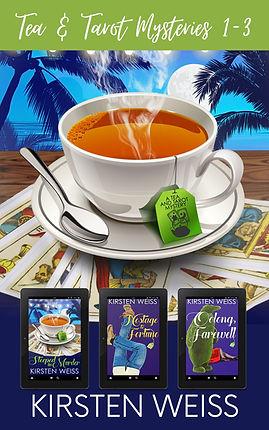 Tea and Tarot 3-book set Cover