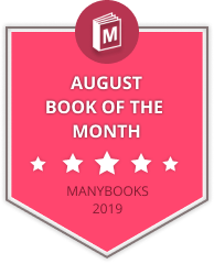 August book of the month badge
