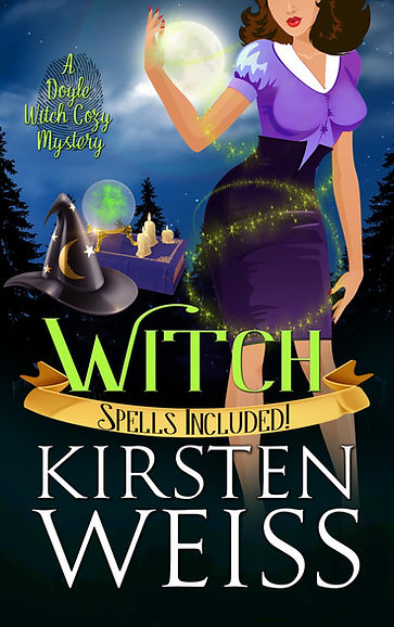 Witch, a witch mystery in the Witches of Doyle paranormal mystery novels