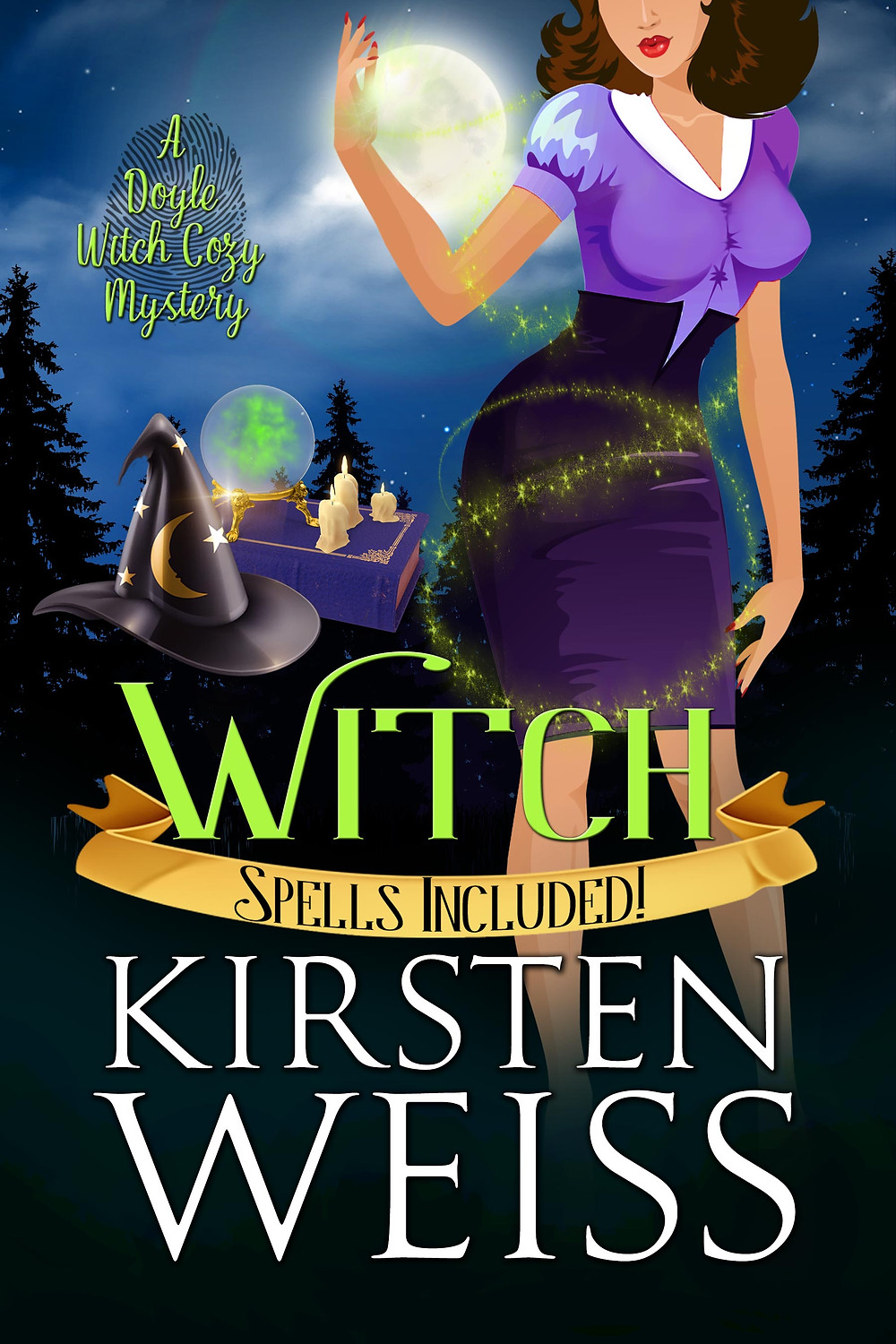 Witch a Doyle Witch Cozy Mystery book 4