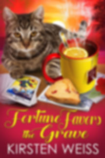 Fortune Favors the Grave, a funny cozy mystery novella