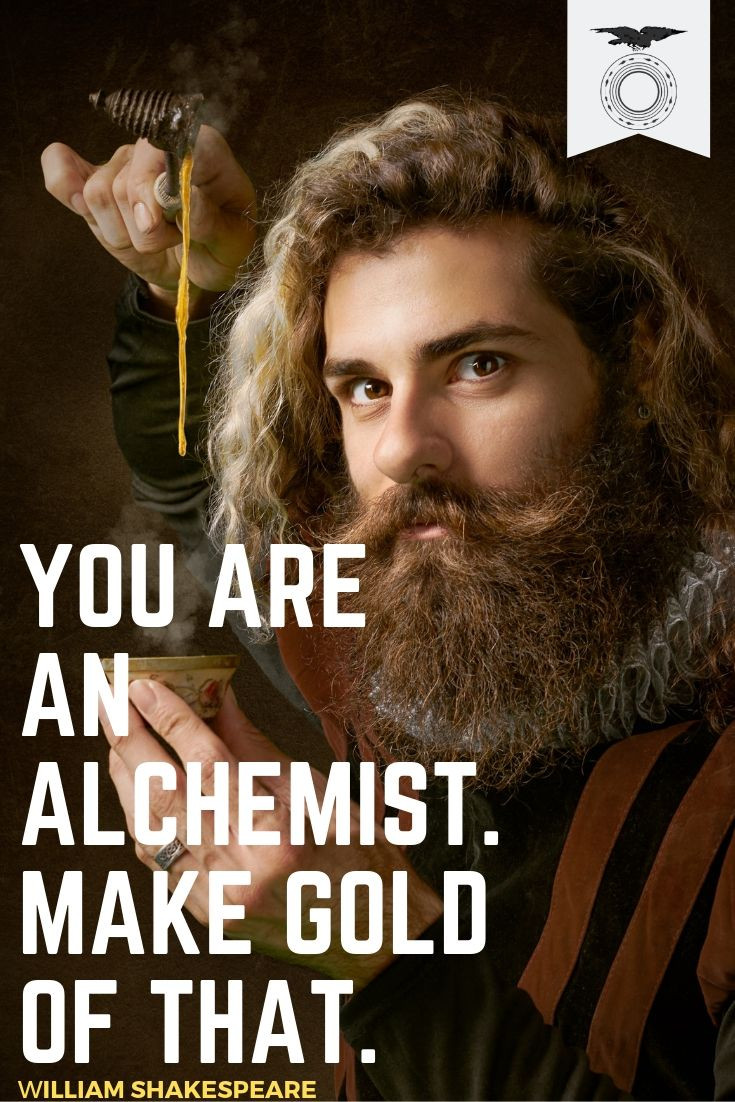 Alchemy quote from the Ravenous Society