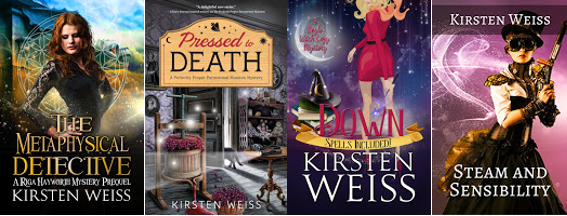 Other book series by Kirsten Weiss - covers