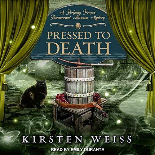 Pressed to Death Audio Book Cover