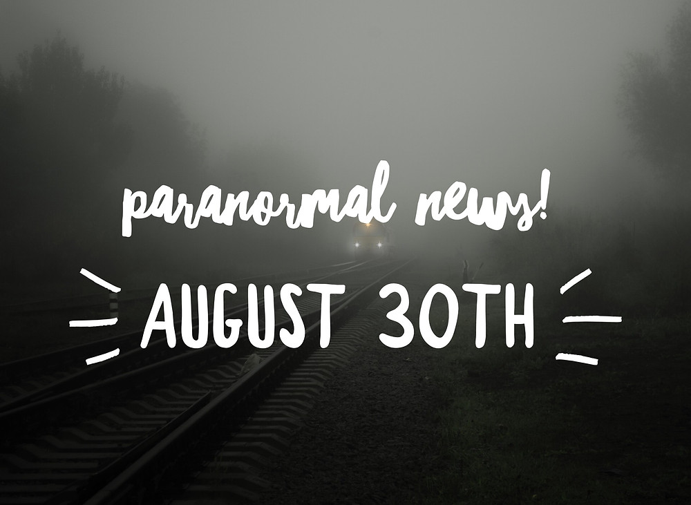train in fog - header image for paranormal news August 30th
