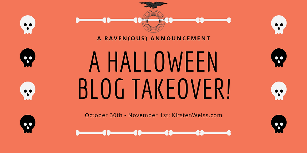 A Halloween Blog Takeover Graphic