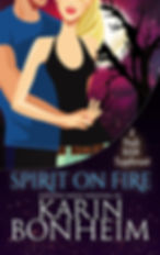 Spirt on Fire - a paranormal romance and witch mystery