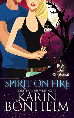 Spirit on Fire, a paranormal romance and witch mystery