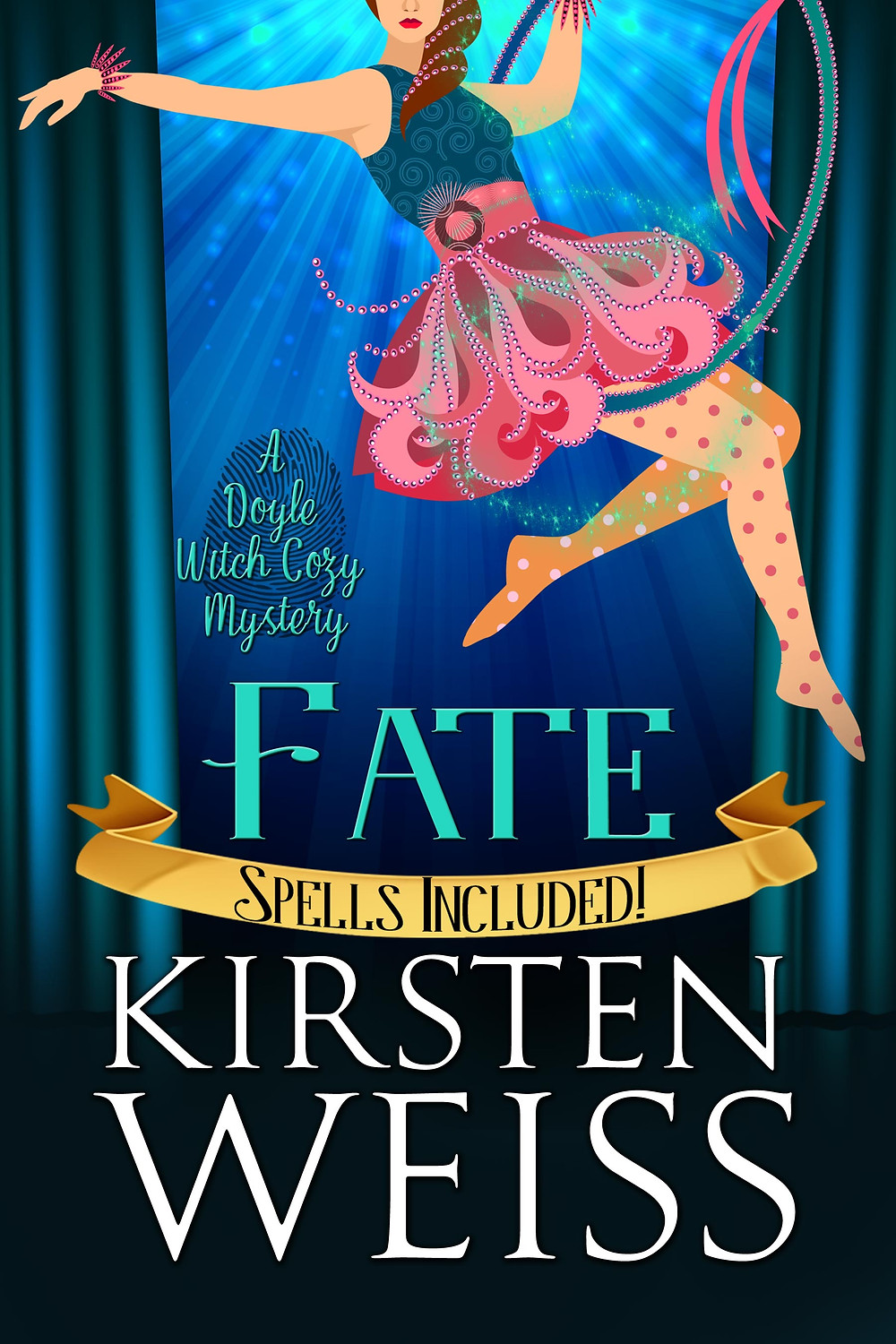 Cover for Fate - Book 6 in the Doyle Witch cozy mystery novels