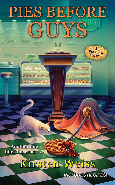 Pie Town cozy mystery series book cover