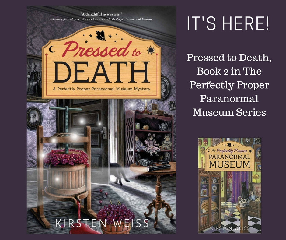 Pressed to Death cozy mystery
