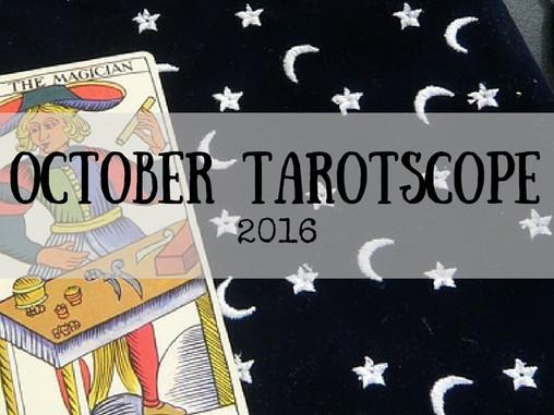 October Tarotscopes!