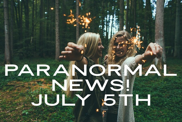 Paranormal News of the Week with Sparklers!