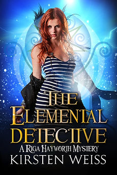 The Elemental Detective urban fantasy paranormal mystery