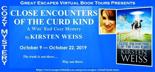 Book tour heading for close encounters of the curd kind