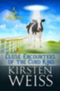 Close Encounters of the Curd Kind, a funny cozy mystery from the Wits' End series of mystery novels