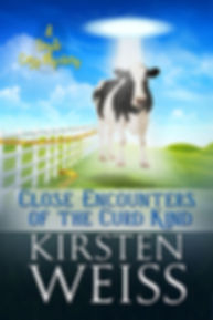 Close Encounters of the Curd Kind, a comic cozy mystery novel
