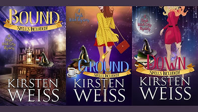 Bound, Ground, and Down book covers