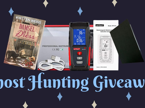 Ghost Hunting Giveaway!