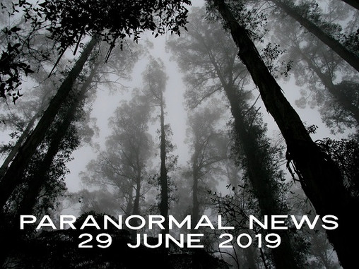 Paranormal News! 29 June, 2019