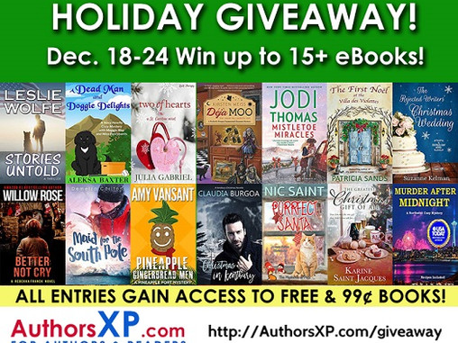 Holiday Book Giveaway