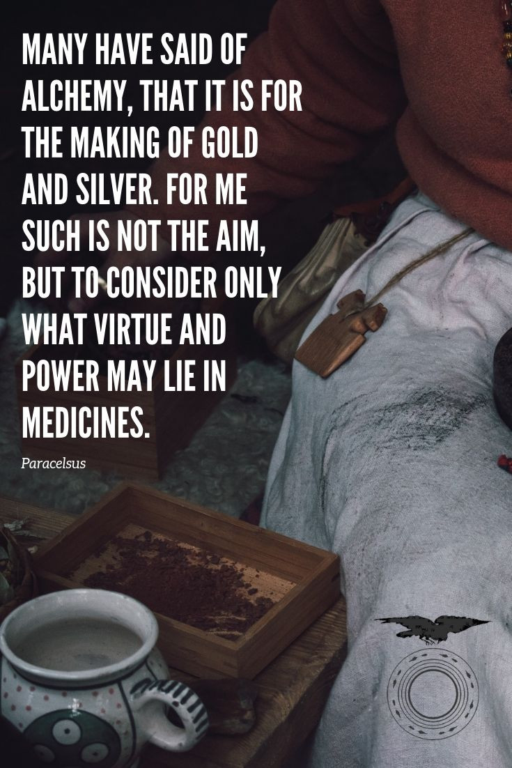 Alchemy quotation