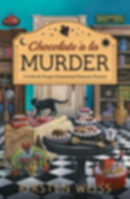 Chocolate a'la Murder, a funny cozy mystery from the Perfectly Proper Paranormal Museum series of mystery novels