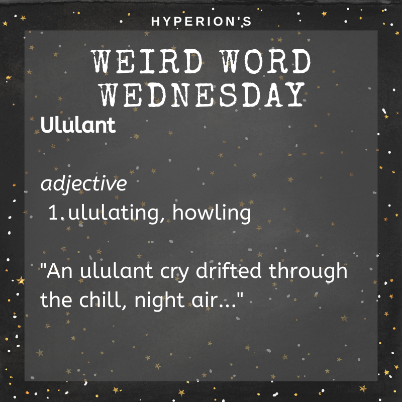 Ululant. Adjective. 1. ululating, howling. Usage: An ululant cry drifted through the chill night air.